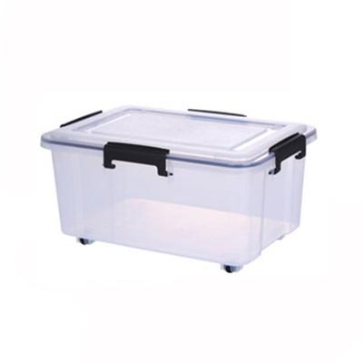 Super Seal Storage Box with Wheels 30L