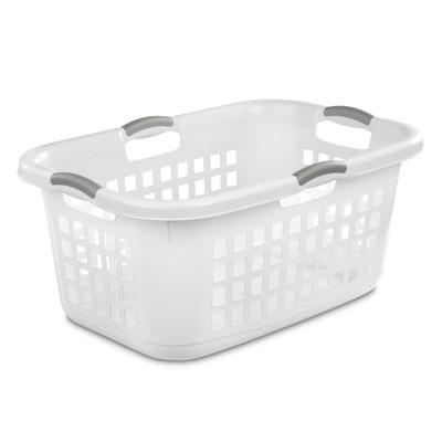 Sterilite Ultra Laundry Basket 71L - White