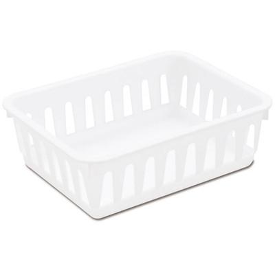 Sterilite White Storage Tray - Mini