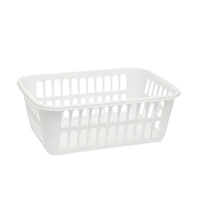 Sterilite White Storage Basket