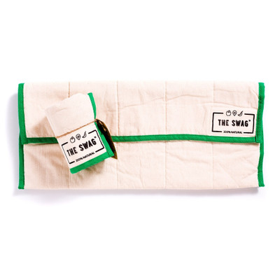 The Swag Produce Storage Bag Long - Green Trim