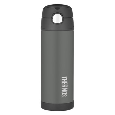 Thermos Funtainer Insulated Vacuum Bottle - 470ML Charcoal