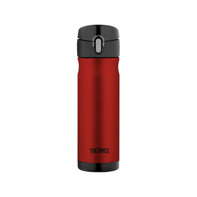 Thermos Stainless Steel Vacuum Insulated Commuter Drink Bottle 470ml - Red