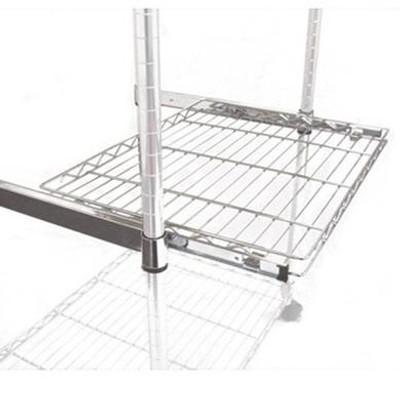 easy-build Chrome Roll Out Shelf 91 x 46cm
