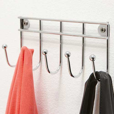 Small 5 Hook Wall Mount
