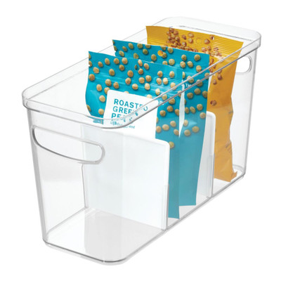 iDesign Crisp Divided Fridge & Pantry Container