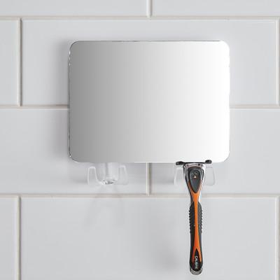 Anti Fog Suction Shower Mirror