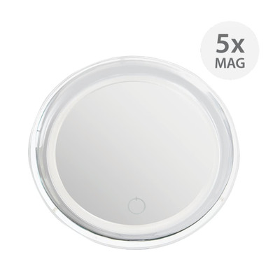 LED 5x Magnification Suction Mirror
