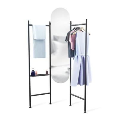 Umbra Vala Full-Length Floor Mirror - Black