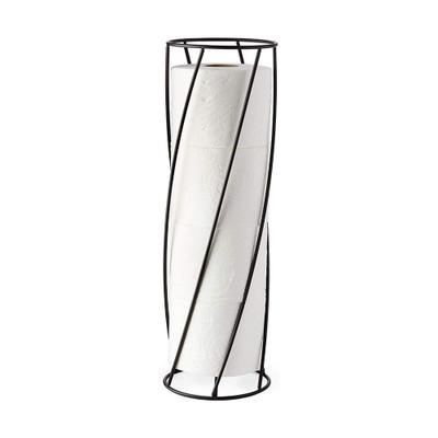 Better Living Twist Toilet Paper Holder - Black