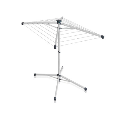 Leifheit LinoPop-Up 140 Rotary Clothes Airer Dryer with Cover