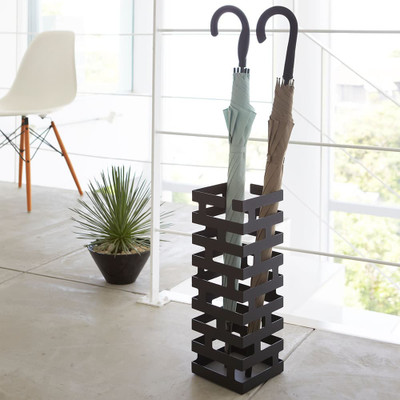Brick Umbrella Stand - Black