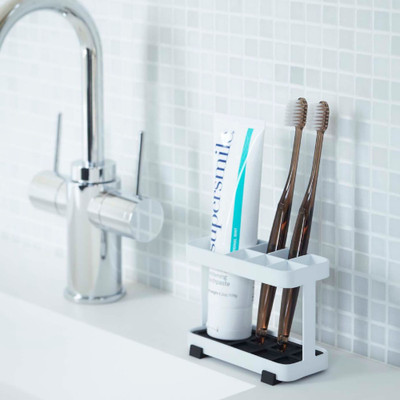 Tower Toothbrush Holder - White