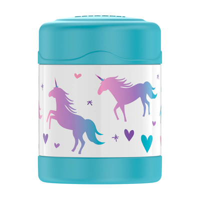 Thermos Funtainer Insulated Food Jar 290ml - Unicorns
