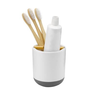 Full Circle Toothbrush Holder - White