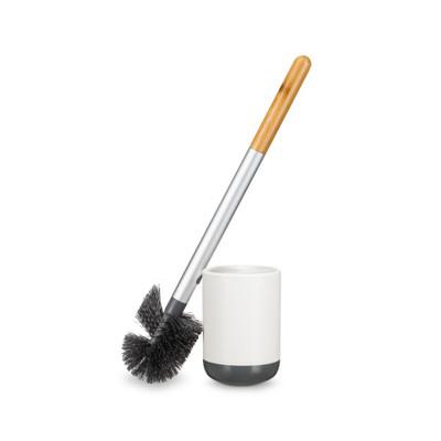 Full Circle Scrub Queen Toilet Brush - White