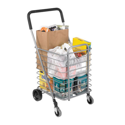 Polder Superlight Folding Shopping Cart