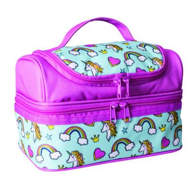 Avanti Yum Yum Double Decker Lunch Bag - Unicorns
