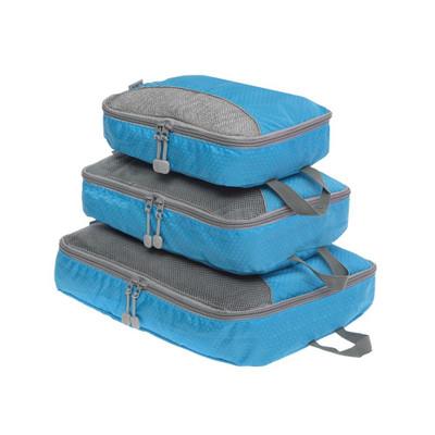 Packing Organisation Travel Cubes Set 3 - Blue