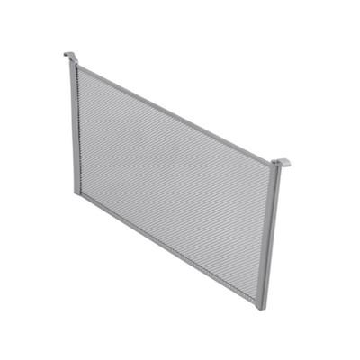 elfa Mesh Drawer Divider H185mm x W531mm 2-Piece - Platinum