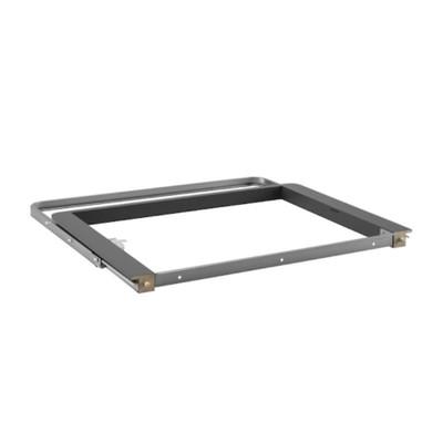 elfa 40 Decor Gliding Drawer Frame Front W600 - Grey