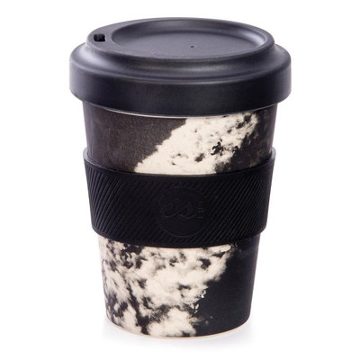 Australian Collection eCup Bamboo 350ml - Monochrome Waves Assorted