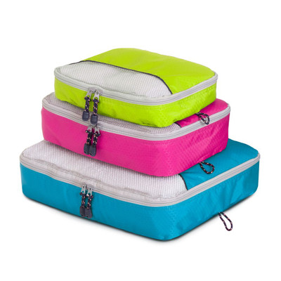 Globite Packing Organisation Travel Cubes Set of 3 - Multi
