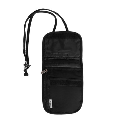 Globite Travel RFID Neck Pouch - Black