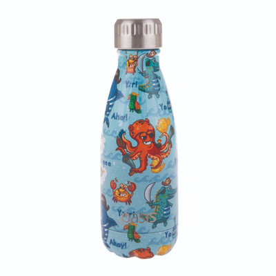 Oasis Insulated Stainless Steel Drink Bottle 350ml - Pirate Bay