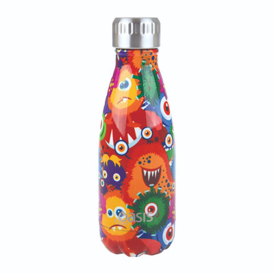 Oasis Insulated Stainless Steel Drink Bottle 350ml - Monsters