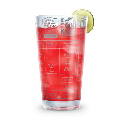 Vodka Cocktail Recipe Glass 473ml