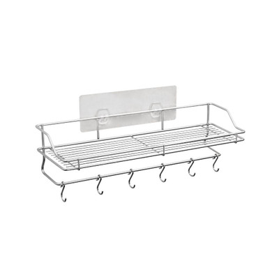 White Magic Stainless Steel i-Hook Kitchen Shelf