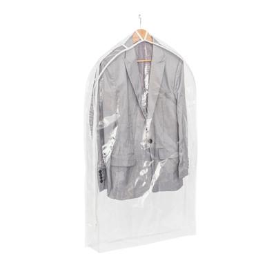 Howards Single Suit Bag - Clear