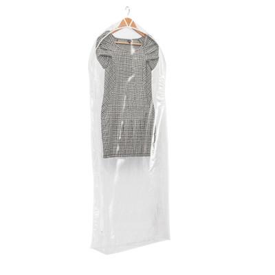 Howards Single Dress Bag - Clear