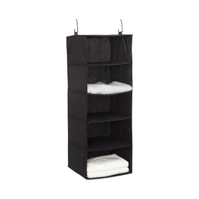 Howards 5 Shelf Garment Organiser Large - Black