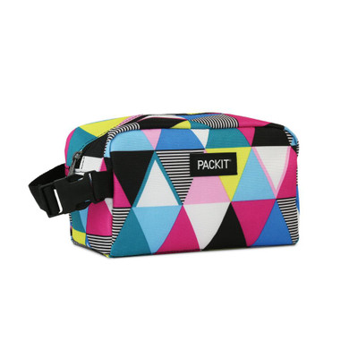 Packit Freezable Snack Box Bag - Triangle Stripes