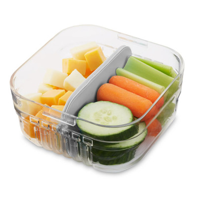 Packit Mod Bento Snack Container - Grey