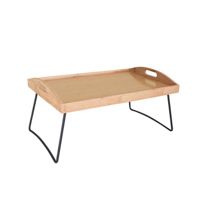 Bamboo Serving Tray with Legs