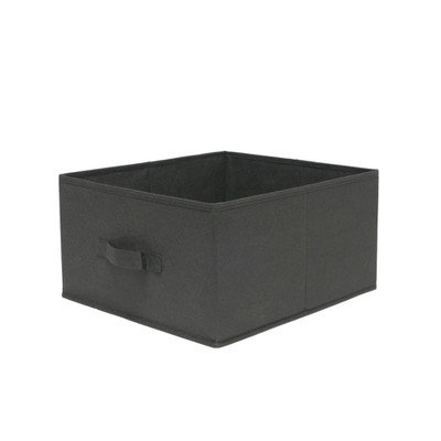 Howards Black Fabric Drawer - Large