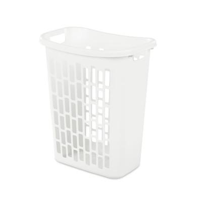 Sterilite 63L Rectangular Laundry Hamper - White