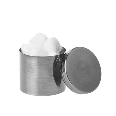 Howards Grey Metallic Canister