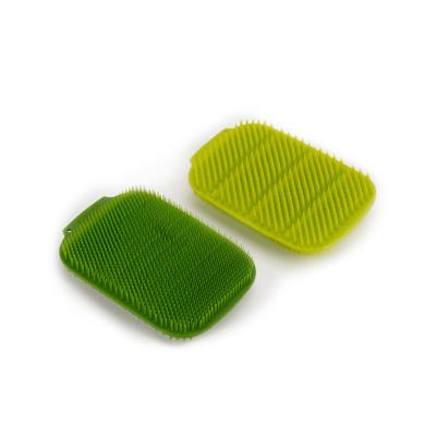 Joseph Joseph CleanTech Dish Scrubbers 2 Pack - Green