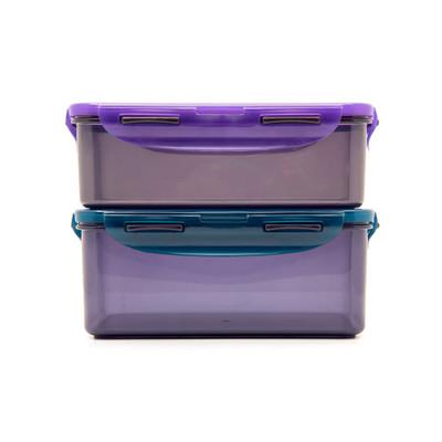 Lock & Lock Eco Rectangular Food Container 2 Piece Set