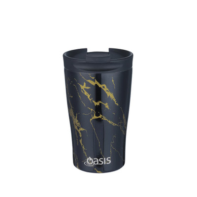Oasis Stainless Steel Insulated Travel Cup 350ml - Gold Onyx