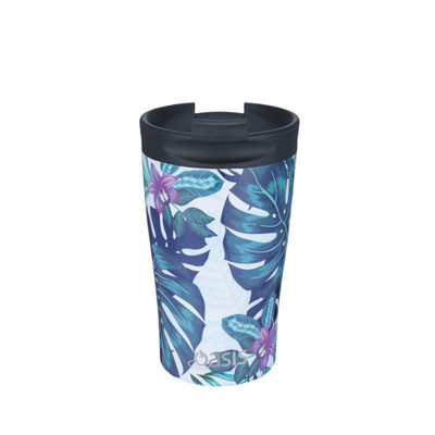 Oasis Stainless Steel Insulated Travel Cup 350ml - Tropical Paradise