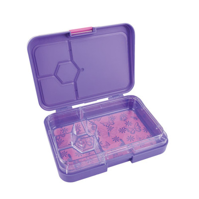 4 COMP BENTO BOX BUTTERFLY