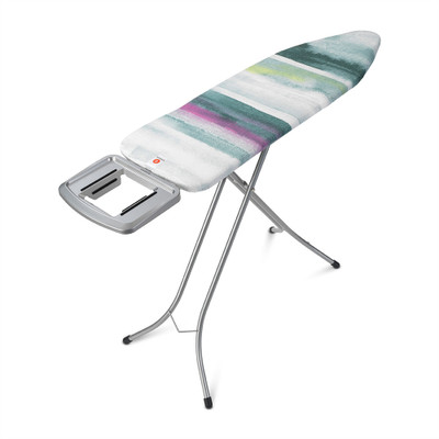 Brabantia Size B Ironing Board with Solid Steam Iron Rest - Morning Breeze