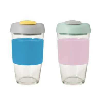 Avanti GoCup Glass Reusable Cups 473ml