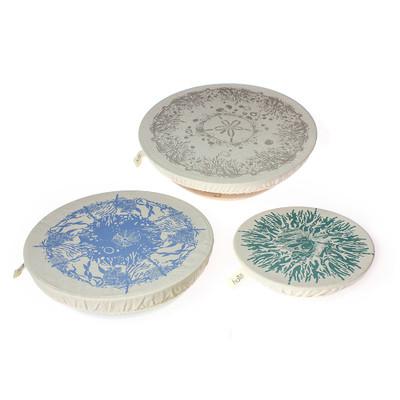 halo Dish Covers Large Set of 3