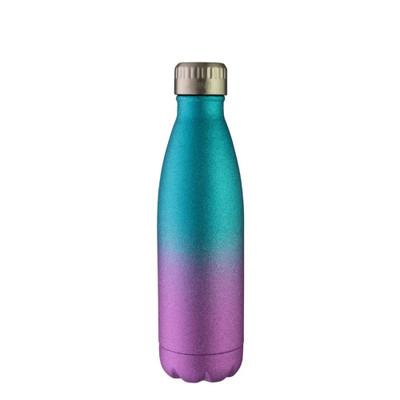 Avanti Fluid Vacuum Stainless Steel Drink Bottle 500ml - Ombre Glitter